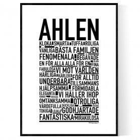 Ahlen Poster