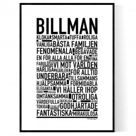 Billman Poster