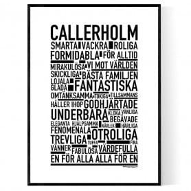 Callerholm Poster