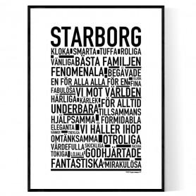 Starborg Poster