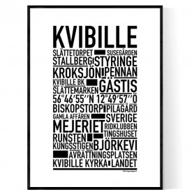 Kvibille Poster