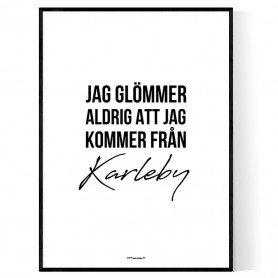 Från Karleby