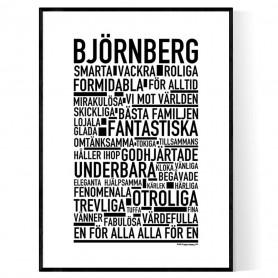 Björnberg Poster