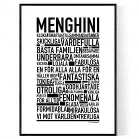 Menghini Poster