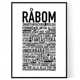 Råbom Poster