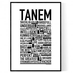 Tanem Poster