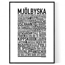 Mjölbyska Poster