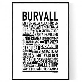 Burvall Poster