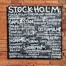 Stockholm Original Canvas