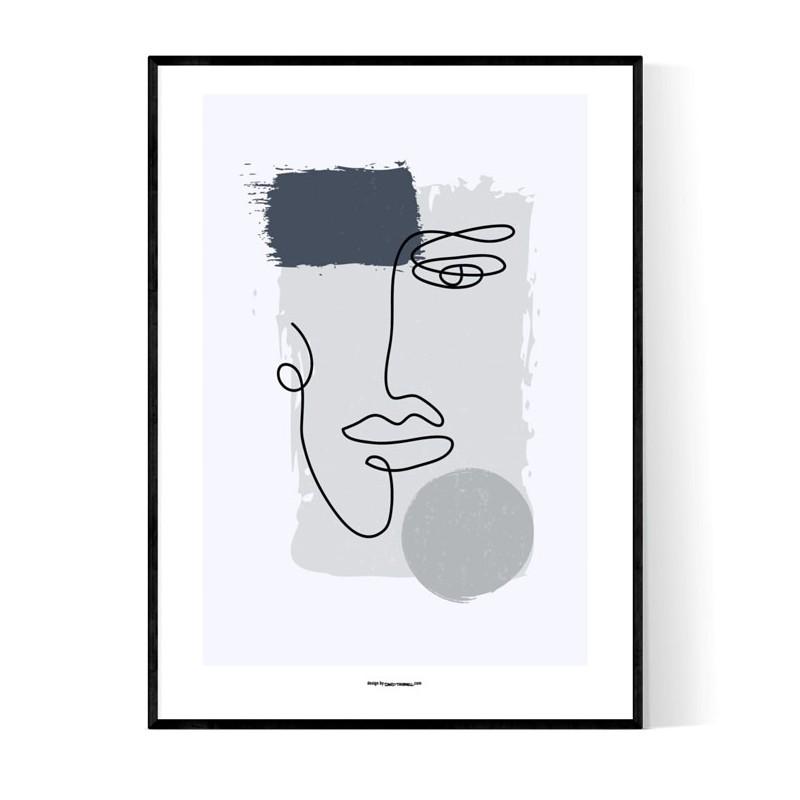 Abstract Joe Face