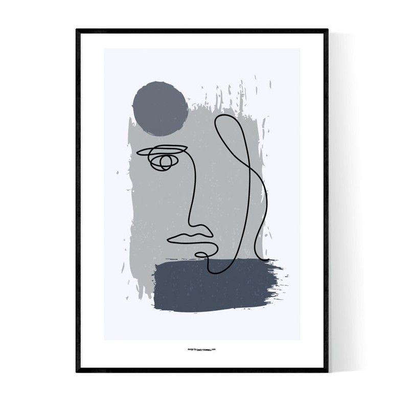 Abstract Lisa Face