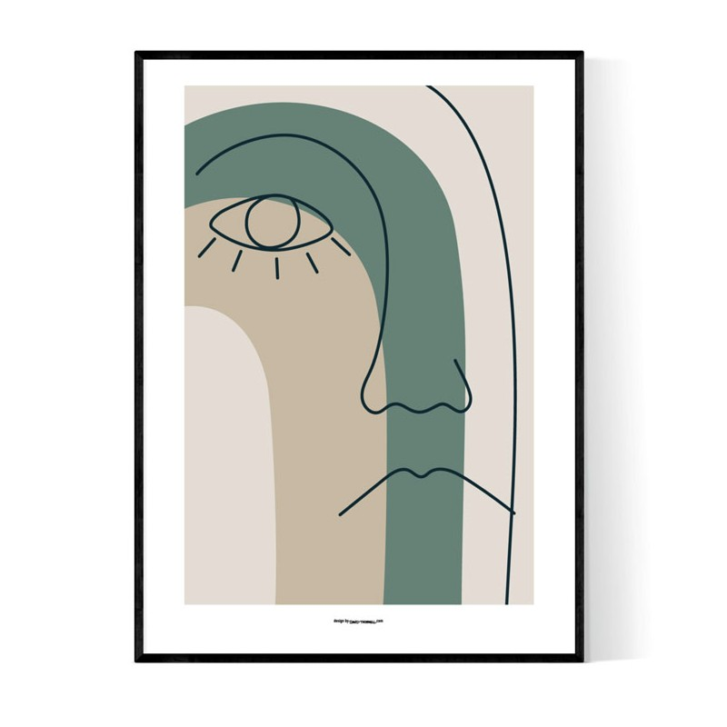 Abstract Sam Face