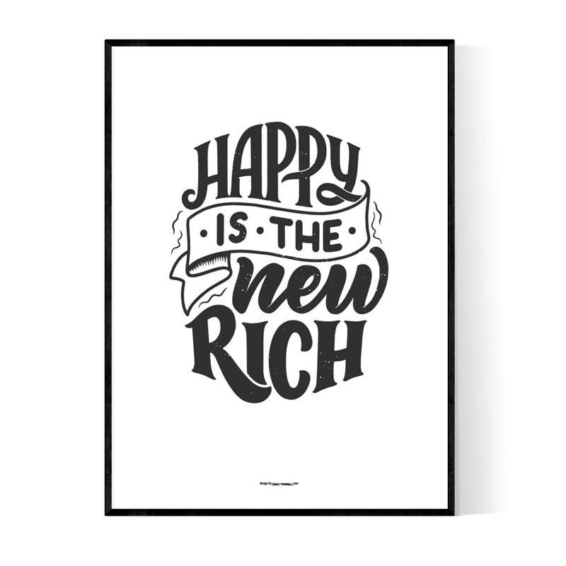 Happy Rich Poster