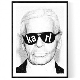 Karl Sketch Poster