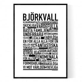 Björkvall Poster