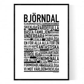 Björndal Poster