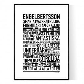 Engelbertsson Poster