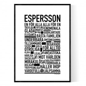 Espersson Poster