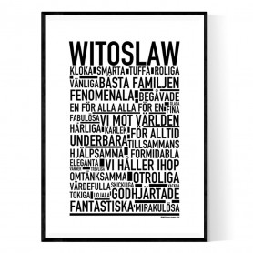 Witoslaw Poster