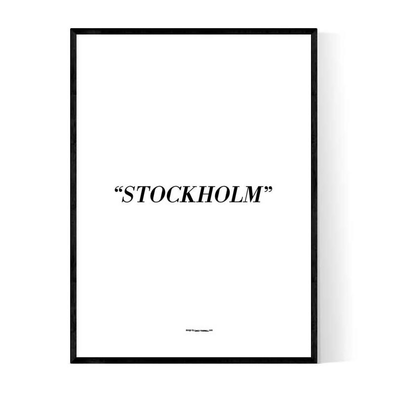 Stockholm Alt Poster