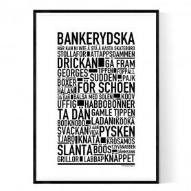 Bankerydska Poster