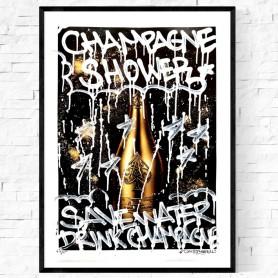 CHAMPAGNE SHOWER ORIGINALVERK 1/1