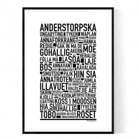 Anderstorpska Poster