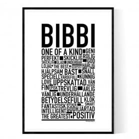 Bibbi Poster