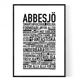 Abbesjö Poster