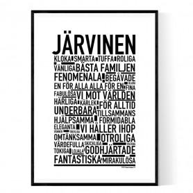 Järvinen Poster