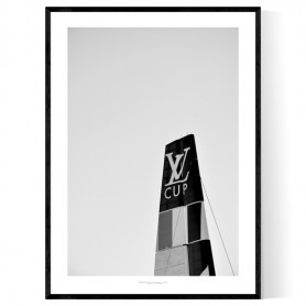 Louis Vuitton Cup Poster