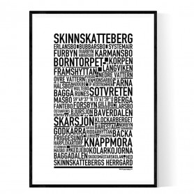 Skinnskatteberg Poster