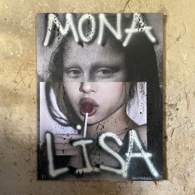 MONA LISA ORIGINALVERK CANVAS