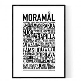 Moramål Poster