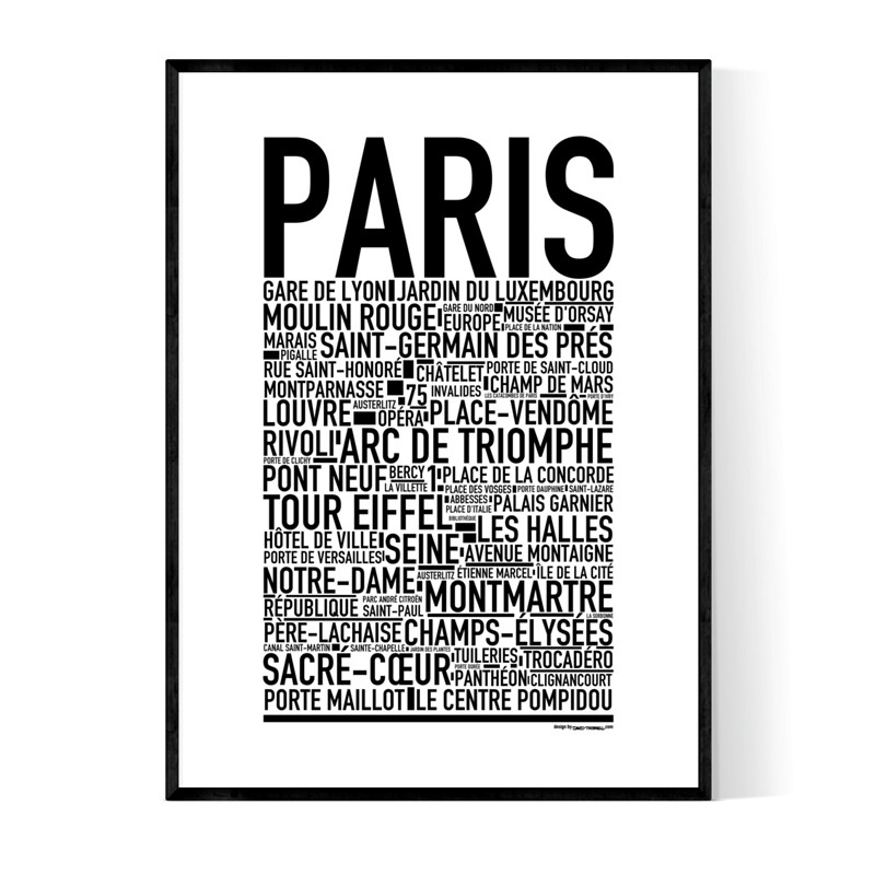 Paris 2021 Poster