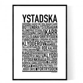 Ystadska Poster