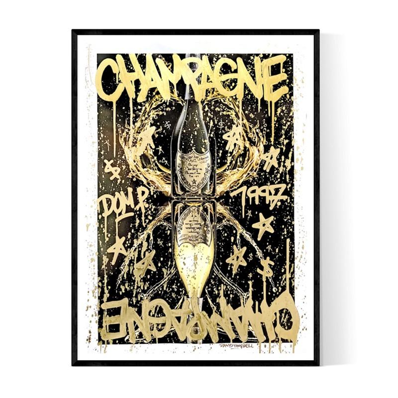 Champagne Perignon Poster