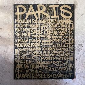 PARIS TAGS ORIGINATAVLA CANVAS 1/1