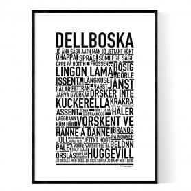 Dellboska Poster
