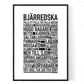 Bjärredska Poster
