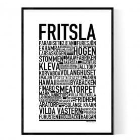 Fritsla Poster