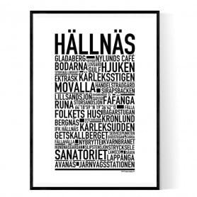 Hällnäs Poster