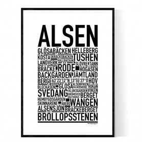Alsen Poster