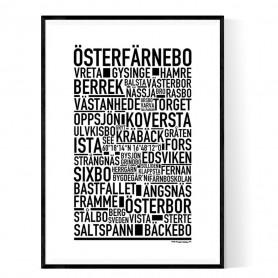 Österfärnebo Poster