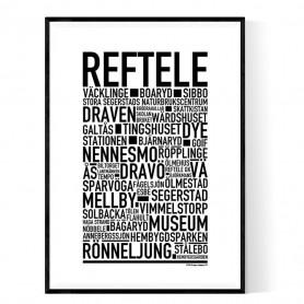 Reftele Poster