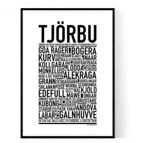 Tjörbu Poster