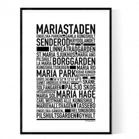 Mariastaden Poster