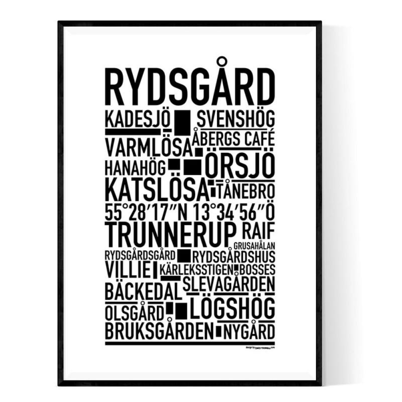 Rydsgård Poster