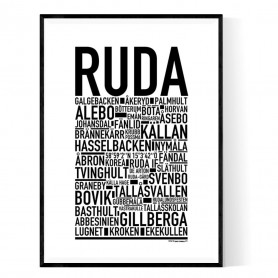 Ruda Poster