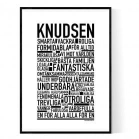 Knudsen Poster